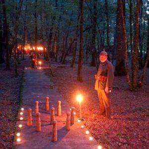Visite nocturne du Camp Marguerre (15 km de Verdun)