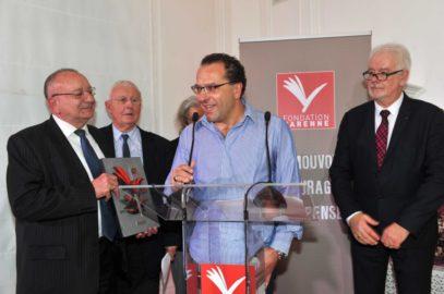 Jean-Marc Toussaint de l'AJT, Grand Prix Varenne 2016