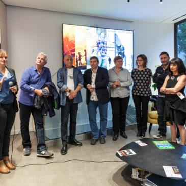 Inauguration de l'exposition AJT au Nikon Plaza Paris